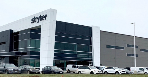 Photo of Stryker's building