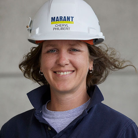 Photo of Cheryl Philibert, Assistant Site Superintendent